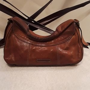 BCBG MAXAZRIA Leather Med Shoulder Bag